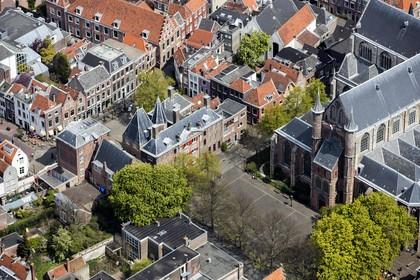 Ook op historische daken in Leidse binnenstad worden zonnepanelen toegestaan