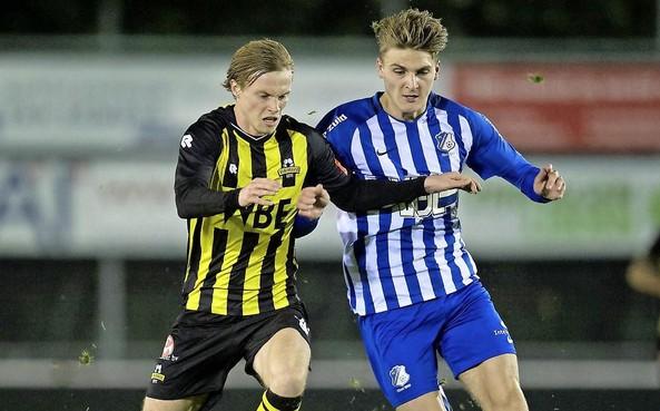 Dani van der Moot is opnieuw belangrijk voor Rijnsburgse Boys [video]