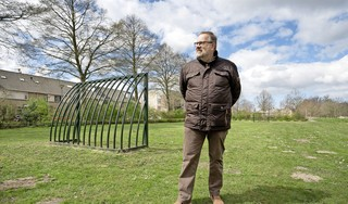 Onrust in de Jan Wagtendonkstraat in Voorschoten over 46 flexwoningen op een klein plantsoen: 'We kijken straks tegen een muur'