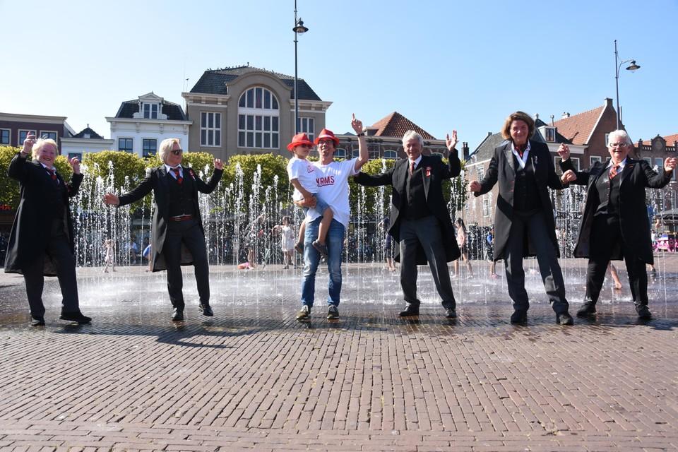 De 3 October Vereeniging swingt graag mee.
