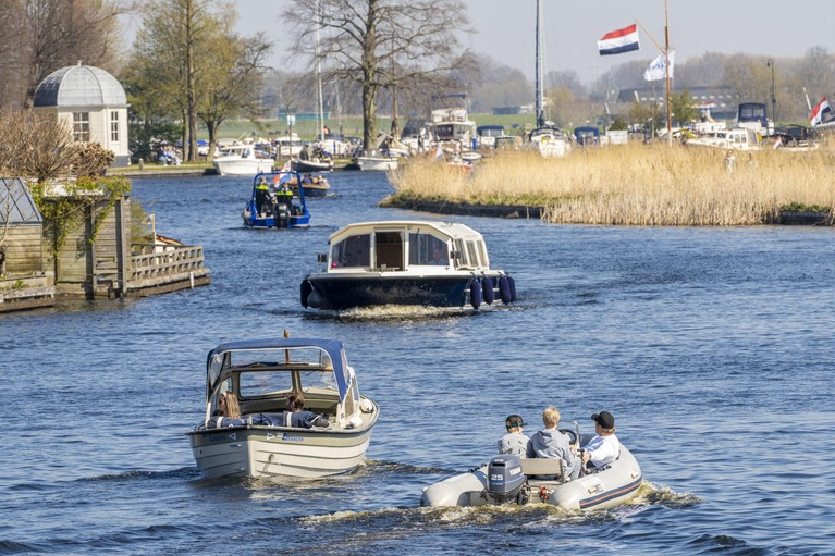 De leegte is een vriend van corona, leert een fietstochtje door Leiden