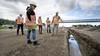 Nu nog een berg zand, straks de nieuwe N206: provincie en bouwbedrijf geven kijkje in de keuken