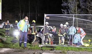 Zwaar ongeluk in Katwijk: traumaheli ingezet, twee gewonden en weg afgesloten [video]