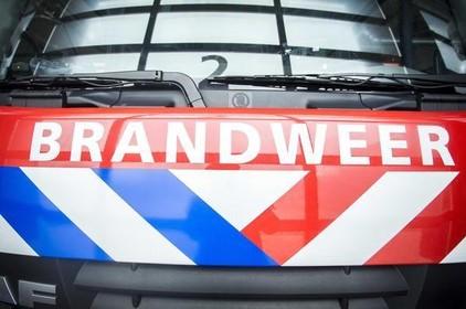 Lintjes voor brandweerlieden Koudekerk aan den Rijn