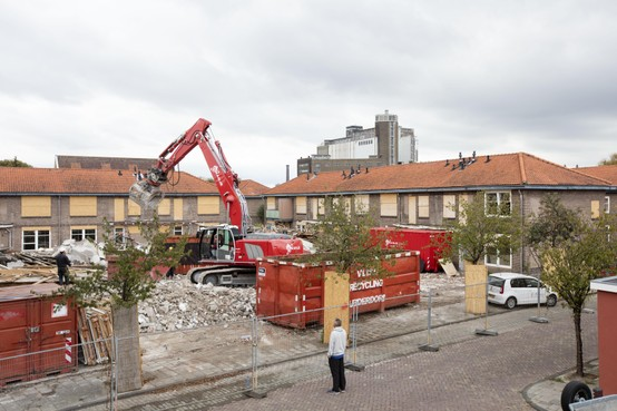 Stijgende bouwkosten nekken nieuwbouw Zeeheldenbuurt