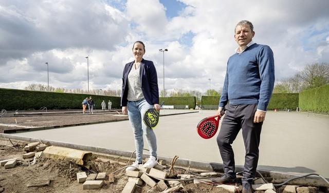 Padel rukt snel op in de Leidse regio: 'In Spanje is het al populairder dan tennis. Waarom zou het hier anders gaan?'