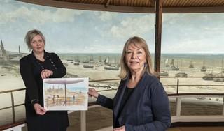 Panorama Mesdag viert jubileum met Aap & Mol op een zonnig toverstrand