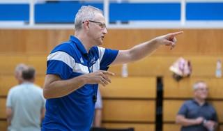 Rolf Franke zwaait na twee seizoenen af als coach van ZZ Leiden. 'Voor topsport is een bepaalde hardheid nodig'