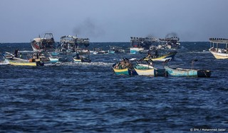 Israël beperkt vissen Gazastrook als straf voor 'brandballonnen'