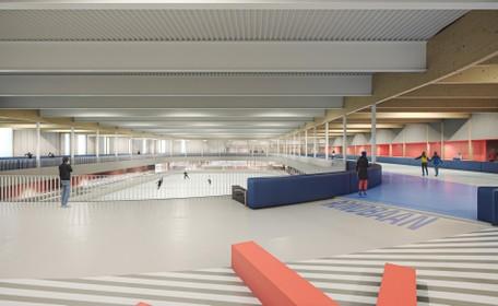 Zwembad en schaatshal bij De Vliet mogelijk apart gebouwd
