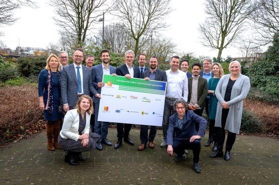 Katwijk, Kaag en Braassem, Alphen aan den Rijn en Zoeterwoude vragen Europese subsidie aan voor aardgasvrije wijken