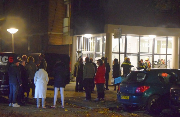 Acht appartementen ontruimd na woningbrand in Leiden