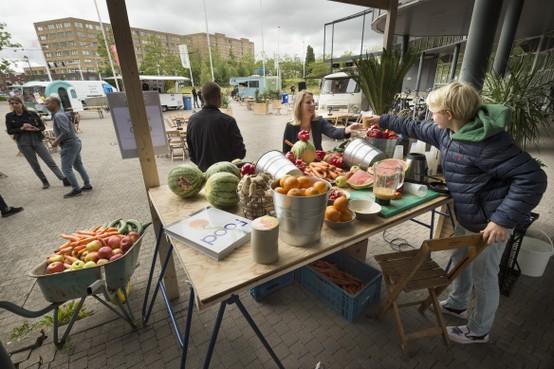 Foodtrucks verkopen de restanten van het voorbije weekend op kliekjesdagen