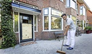 Aanslag Kamerlingh Onnesplein Leiden in 2016: Opruimen na weer een vuurwerkbom [video]
