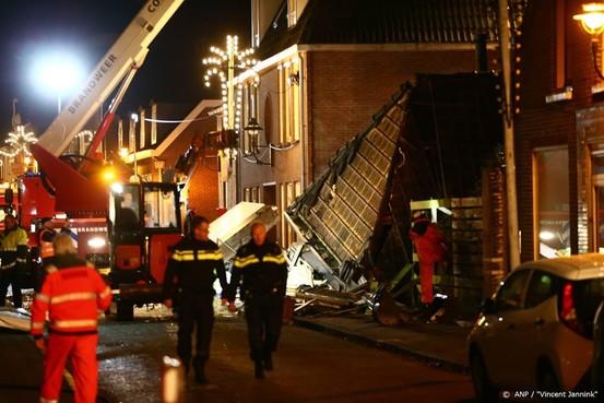 Omwonenden ingestort pand Coevorden weer thuis