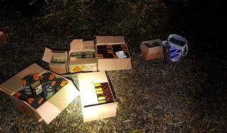 62 kilo zwaar vuurwerk in auto: Alphenaar loopt tegen de lamp bij verkeerscontrole