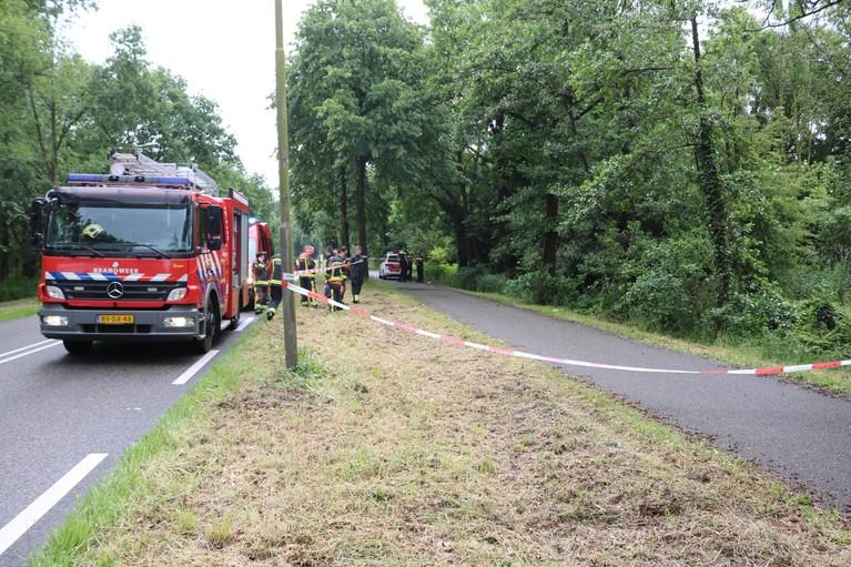 Loos alarm na grote inzet hulpdiensten voor persoon te water in Lisse