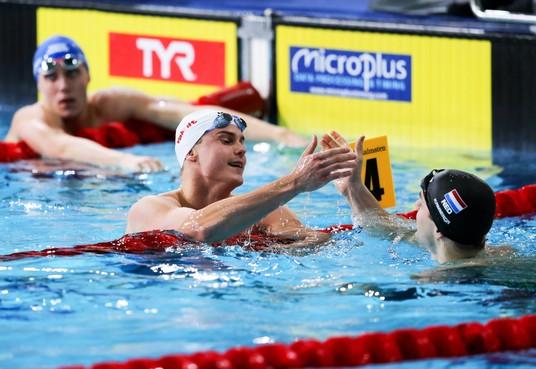 Katwijker Arno Kamminga wint EK-brons op 50 meter schoolslag