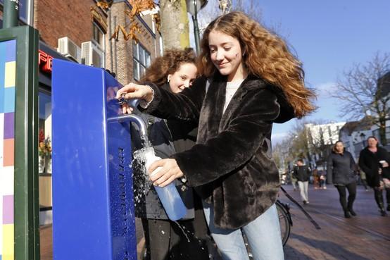 Leiden krijgt eindelijk zijn watertappunten, maar nog zonder water