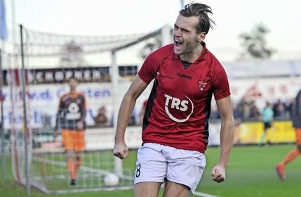 Arno Dijkstra hoopt afscheid te nemen van FC Rijnvogels met een periodetitel