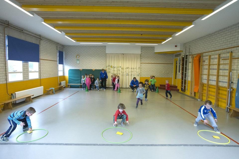 Net als het schoolgebouw, wordt ook de gymzaal van de vasisschool 't Bolwerk en de Hobbit opgeknapt.