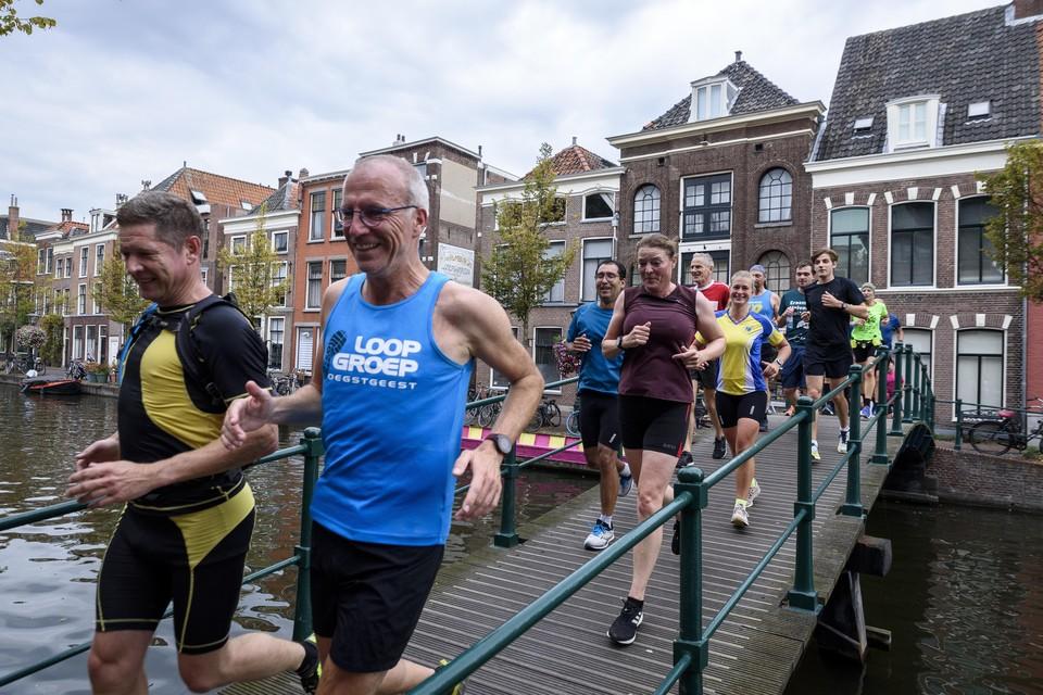 Brug nummer 71, de Dullebrug over de Oude Rijn.