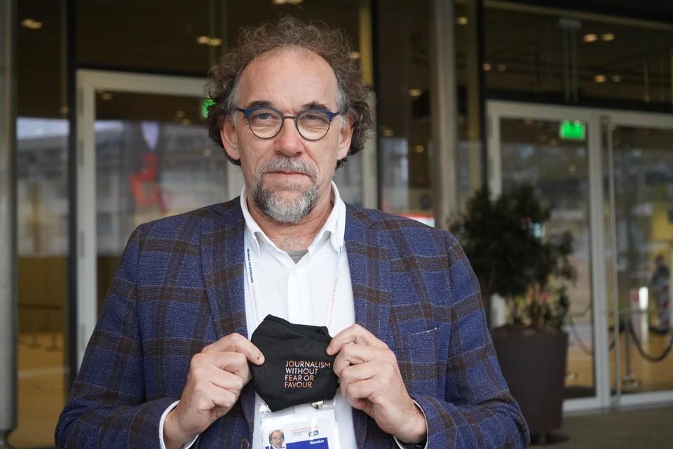 Hoogleraar Journalistiek en nieuwe media Jaap de Jong was één van de organisatoren.