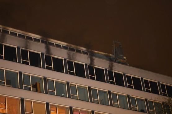 Brand Alrijne Ziekenhuis mogelijk aangestoken [update]