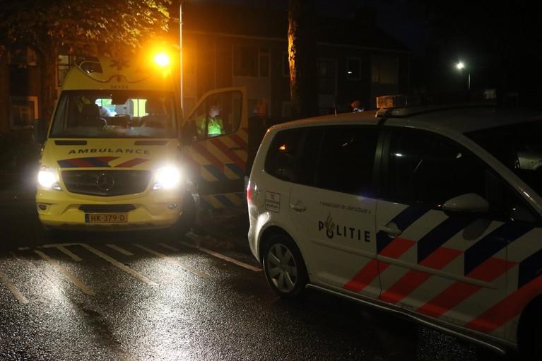 Jongen op fiets aangereden door auto in Sassenheim