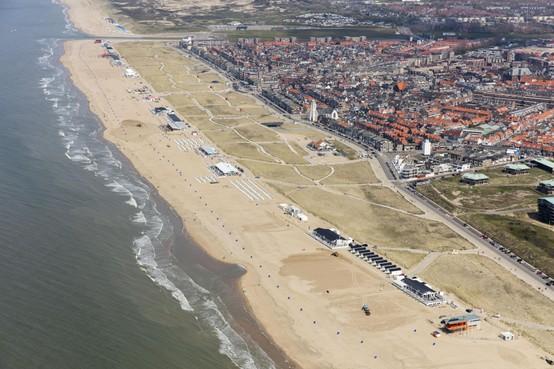 Stampij om stukje strand in Katwijk: emoties lopen hoog op