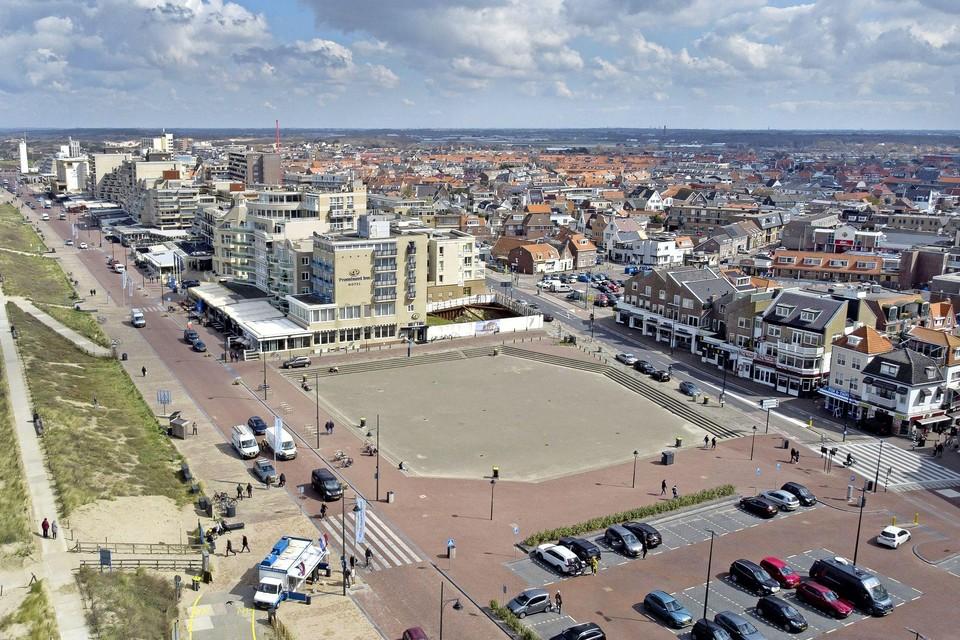 Het Gat van Palace aan de Noordwijkse Boulevard, al jaren in handen van vastgoedondernemer Ronnie van de Putte.