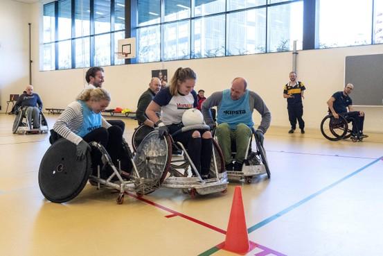 DIOK kondigt start rolstoelrugby aan
