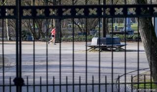 Poorten van Vondelpark in Amsterdam opnieuw dicht