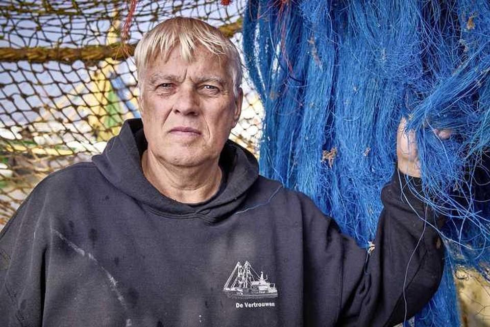 Jaap Tanis, eigenaar van de kotters Goeree 38 en 48.
