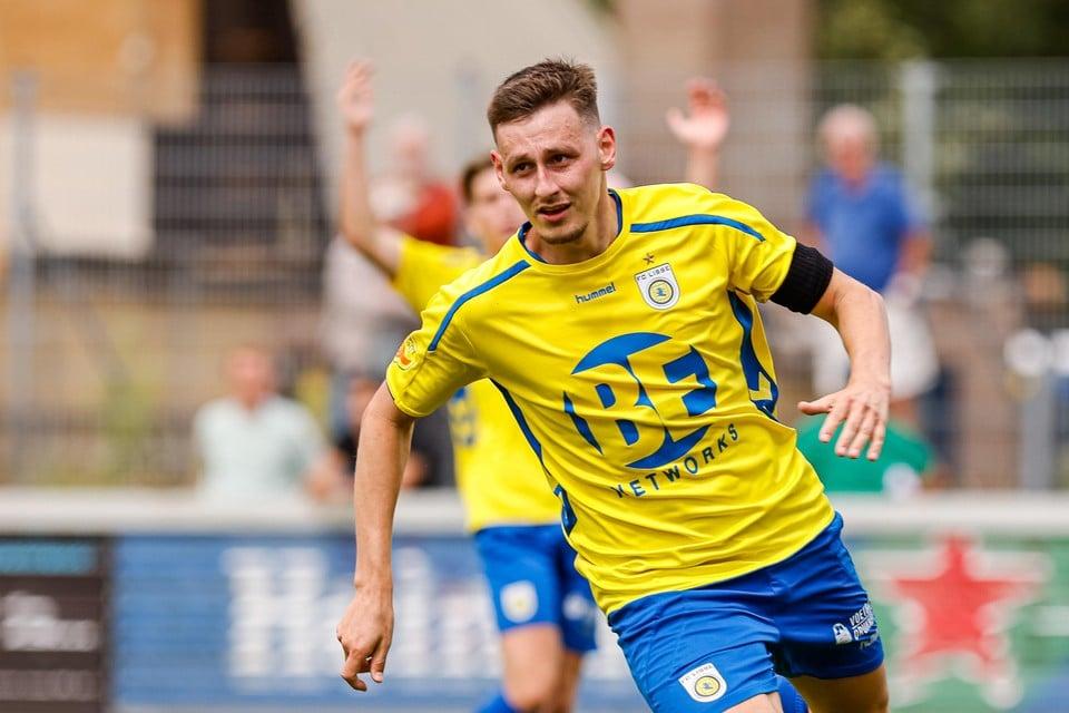 Enzo Stroo heeft inmiddels al vijf doelpunten gemaakt.