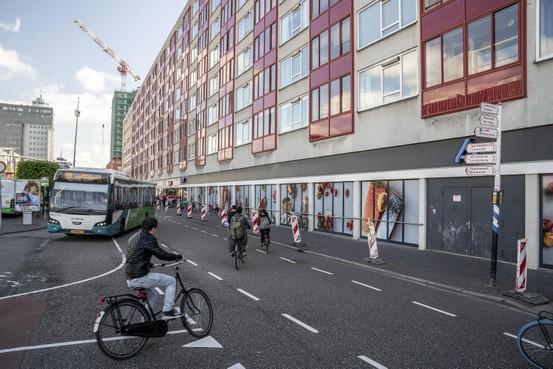 Onzekerheid over flat bij busstation Leiden