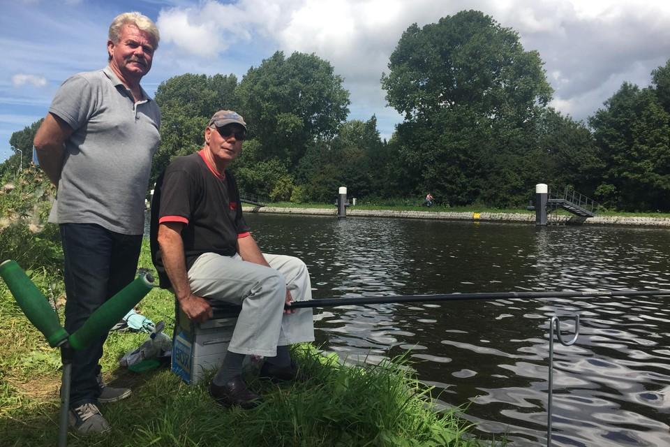 Mat van Dam (links) en Henk van Duuren.