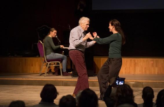 Huidhonger: dans en intimiteit komen samen