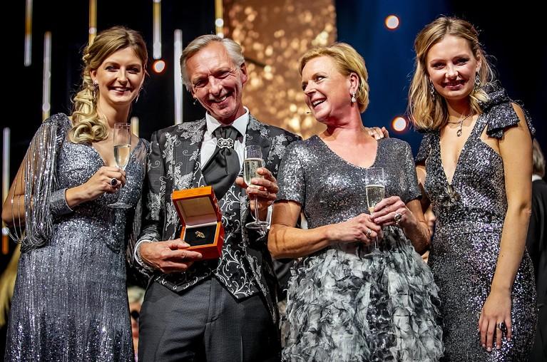 Chateau Meiland wint Gouden Televizier-Ring, Noordwijks gezin Meiland viert feest [video]