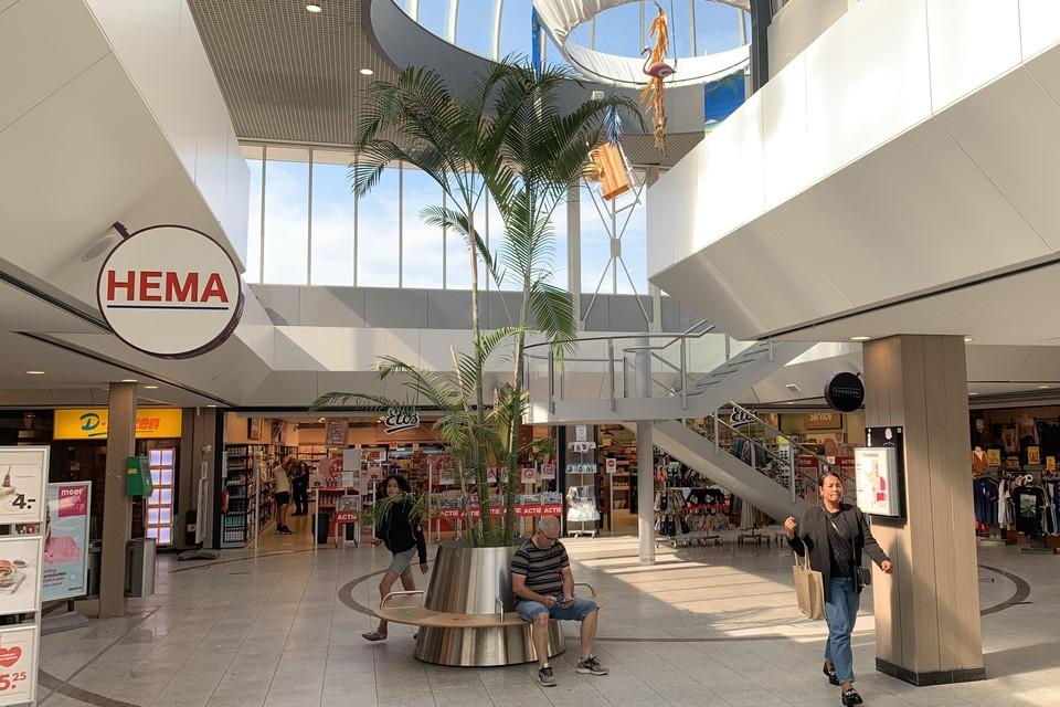 Winkelcentrum de Aarhof in Alphen aan den Rijn.