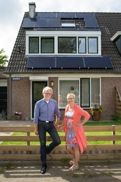 Huis verduurzamen: Dirk Jan en Cecile zoeken ook de zon niet meer op met de kerst