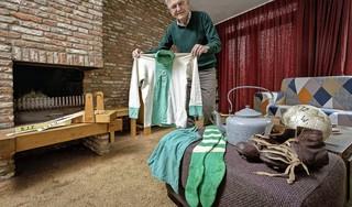 Gerard van der Hoeven heeft thuis een halve eeuw Zoeterwoudse sportgeschiedenis: 'Een ander zegt misschien: wat moet je met die troep?'