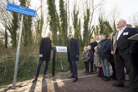 Noordwijk eert als eerste Nederlandse gemeente kunstschilder Liebermann met straatnaam