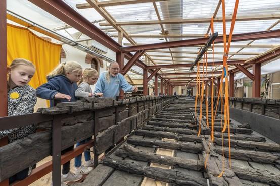 Archeon krijgt 345.000 euro voor restauratie van Romeinse schepen