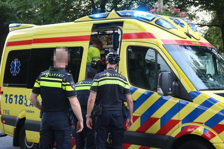 Maaltijdbezorger gewond bij ongeluk in Katwijk