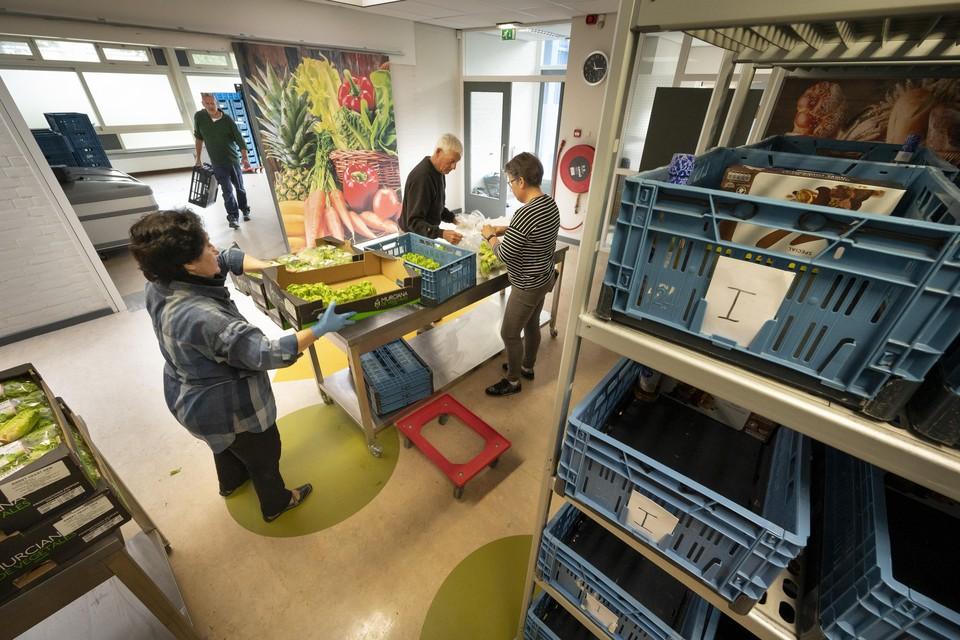 De nieuwe Katwijkse voedselbank in Rijnsburg.