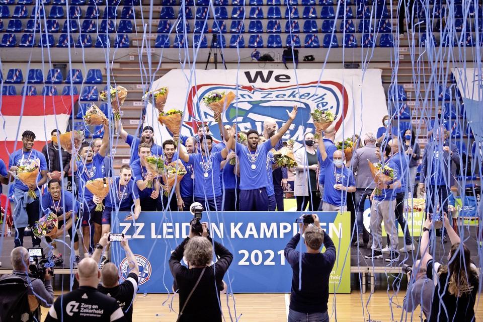 ZZ Leiden werd in mei kampioen en plaatste zich zo voor de voorronde van de Champions League.