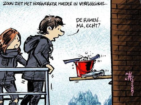 Cartoon: 'Nu je er toch bent'