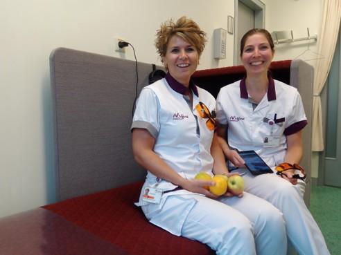 Proef in Alrijne Ziekenhuis: Nachtdienst? Eet fruit en doe een hazenslaap