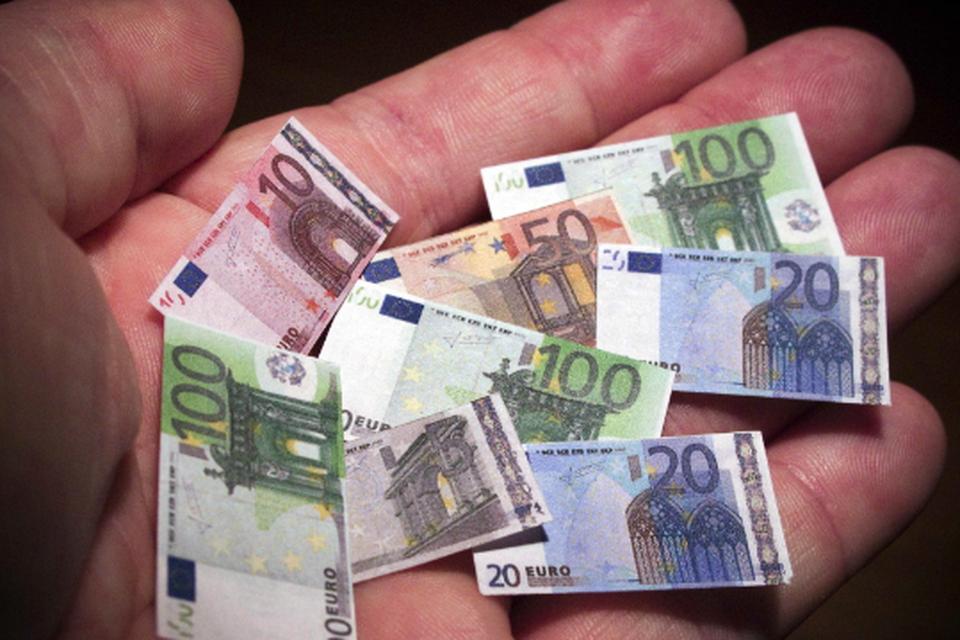 Klein geld.